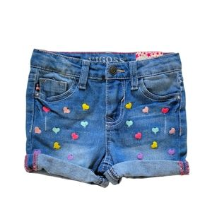 Vigoss Heart Eyes Denim Shorts